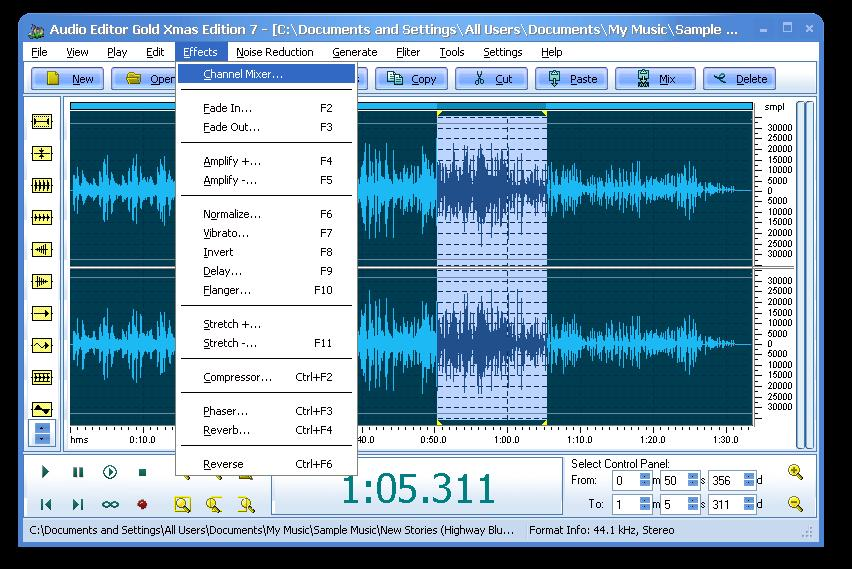Audio editor gold xmas edition 7.0.2 crack